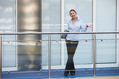 Young businesswoman office smile Royalty Free Stock Image