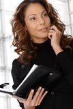 Young businesswoman on the phone Stock Photography