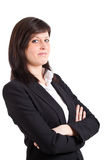 Young businesswoman portrait Stock Images