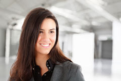 Young businesswoman portrait Royalty Free Stock Images