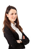 Young businesswoman portrait Royalty Free Stock Photos