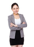 Young businesswoman portrait Stock Photos