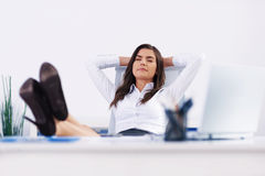 Relax at office Stock Photos