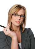 Young businesswoman's portrait Royalty Free Stock Photo