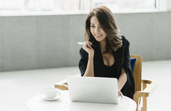 Young businesswoman. Royalty Free Stock Photography
