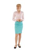 Young businesswoman smiling Stock Photography