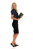 Young Businesswoman Standing Stock Photos