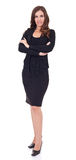 Young businesswoman standing Stock Photo