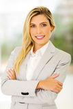 Young businesswoman standing Royalty Free Stock Images