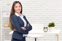 Young businesswoman Stock Image