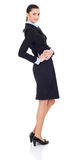 Young businesswoman in suit posing Royalty Free Stock Photography