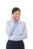 Young businesswoman telephone Stock Photography