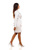 Young businesswoman walking Stock Photo