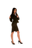 Young Businesswoman With Thumbs Up Royalty Free Stock Photos