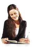Young businesswoman workin Royalty Free Stock Photos