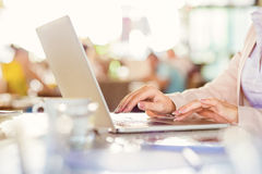 Young businesswoman working Royalty Free Stock Photography
