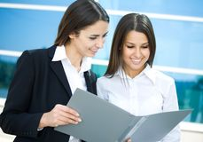 Young businesswomen Stock Images