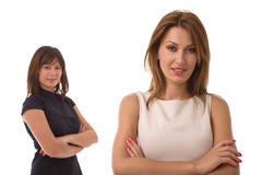 Young businesswomen Stock Image