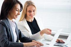 Young businesswomen Stock Photos