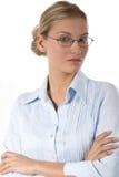 Young busineswoman Stock Photos