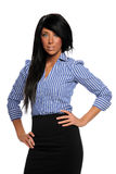Young Busineswoman Standing Stock Images