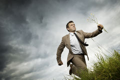 Young bussinesman Stock Photography