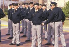 Young Cadets. St. John's Military School, Salina, Kansas Stock Images