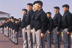 Young Cadets. St. John's Military School, Salina, Kansas Royalty Free Stock Photography