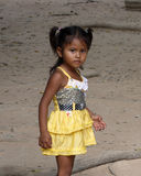 Young Cambodian Girl Stock Image