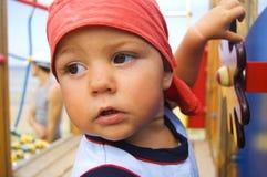 Young captain Royalty Free Stock Photos
