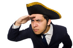 Young captain Royalty Free Stock Image
