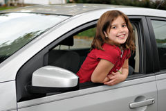 Young Car Beauty Royalty Free Stock Photo