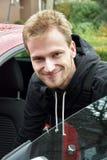 Young car mechanic Stock Photos