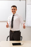 Young careerist. Royalty Free Stock Photos
