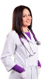 Young caring doctor Royalty Free Stock Photos