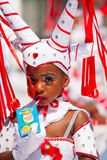 Young Carnival Dancer Stock Photography