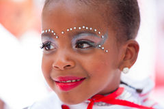 Young Carnival Dancer Royalty Free Stock Photography