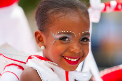 Young Carnival Dancer Royalty Free Stock Photos