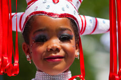 Young Carnival Dancer Royalty Free Stock Photo
