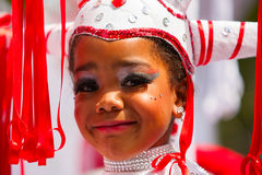 Young Carnival Dancer Royalty Free Stock Image