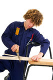 Young carpenter Stock Photos