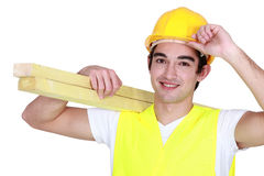 Young carpenter Stock Photos