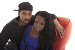 Young Carribean couple Royalty Free Stock Images