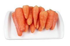 Young Carrots Stock Images