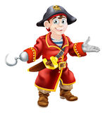 Young cartoon pirate Royalty Free Stock Images