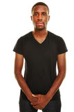 Young casual african man Stock Photography