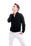 Young casual boy Royalty Free Stock Images