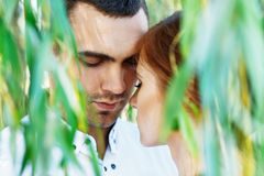 Young casual couple enjoy Stock Image