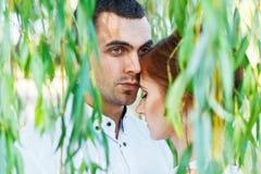 Young casual couple enjoy Royalty Free Stock Photos