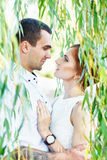 Young casual couple enjoy Royalty Free Stock Images
